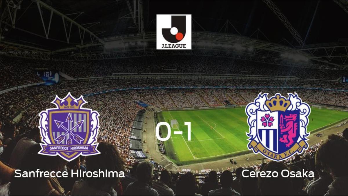 El Cerezo Osaka vence 0-1 al Sanfrecce Hiroshima y se lleva los tres puntos