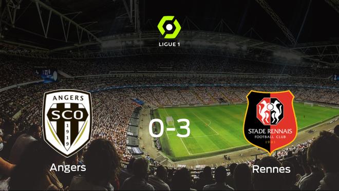 El Stade Rennes se lleva la victoria tras golear 0-3 al SCO Angers