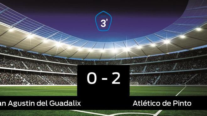 El Atlético de Pinto doblegó al San Agustin del Guadalix por 0-2