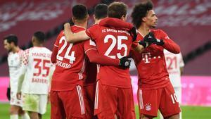 El Bayern salvó los muebles con una gran segunda mitad