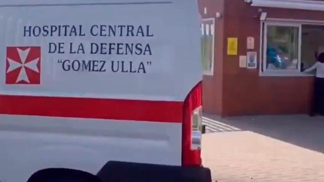 Es la imagen del día: así fue la llegada del ejército para vacunar a la Selección contra el Covid
