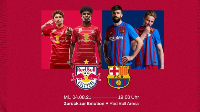 Red Bull Salzburg - Barça, en pretemporada