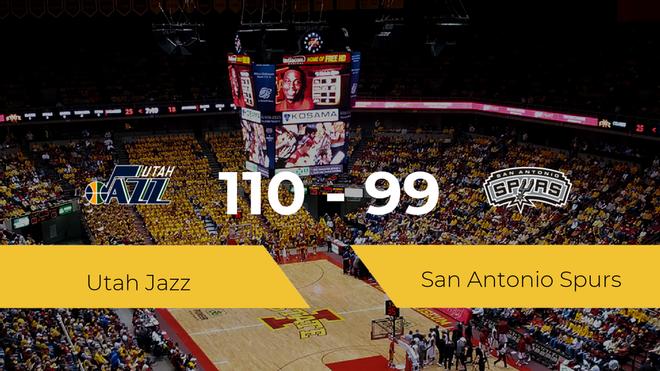 Utah Jazz se impone por 110-99 frente a San Antonio Spurs