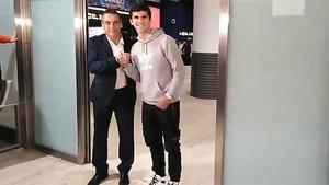 Carles Aleñá ya está en Sevilla