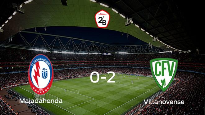 El Villanovense consigue la victoria frente al Rayo Majadahonda en el segundo tiempo (0-2)