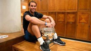 Nadal: Nada es comparable para mí con ganar Roland Garros