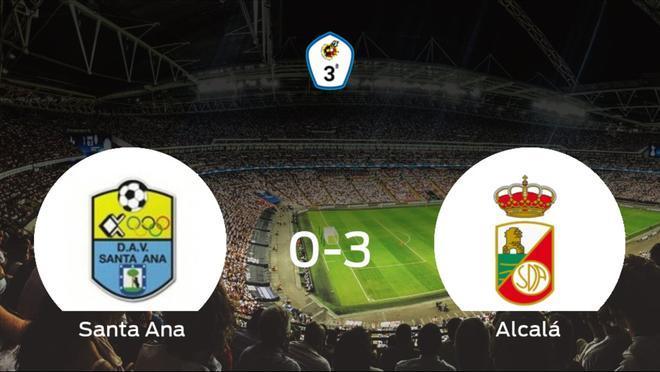 El R. Alcalá suma tres puntos tras pasar por encima al Santa Ana (0-3)