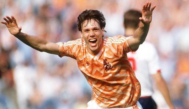 Van Basten fue el máximo anotador del torneo con 5 goles
