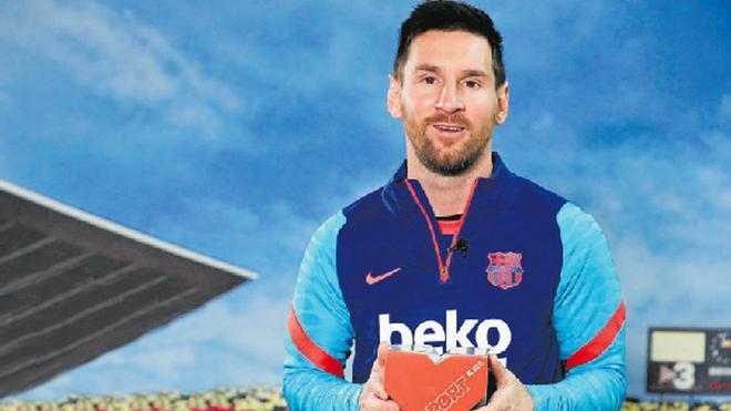 La Fundación Leo Messi, premio Valores Internacional