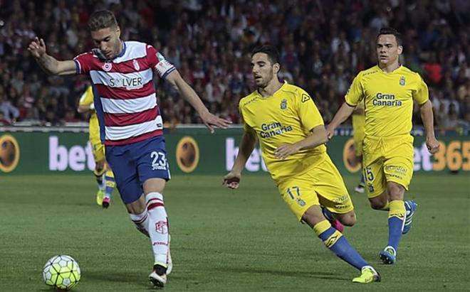 El Granada-Las Palmas de la jornada 36 acabó con triunfo nazarí por 3-2