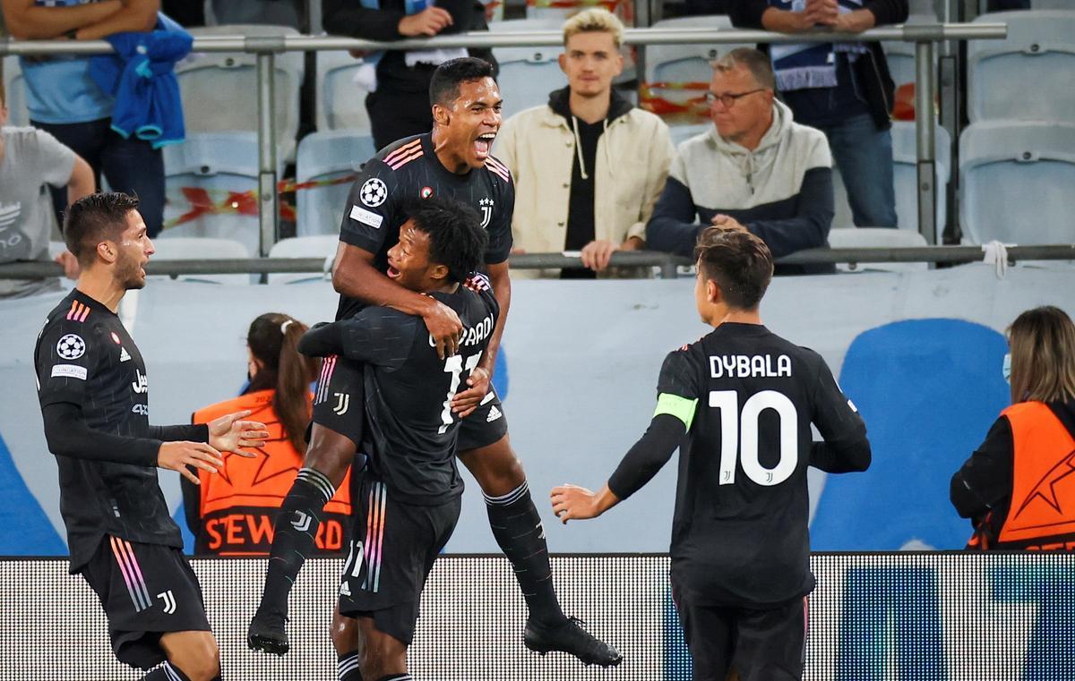 La Juve comienza con buen pie ante el Malmö