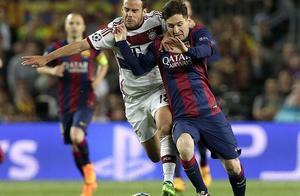 Leo Messi fue el autor de los dos goles del FC Barcelona ante el Bayern