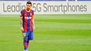 Messi, en el once inicial de Koeman para la final de la Superpoca