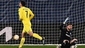 El Villarreal no sufre gracias a Gerard Moreno