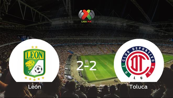 Emoción durante la final de la Liga MX de Clausura: León 2-2 Toluca