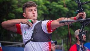 El arquero español Daniel Castro.