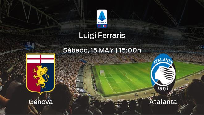 Jornada 37 de la Serie A: previa del encuentro Génova - Atalanta