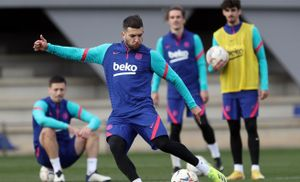 Vuelta a los entrenamientos del FC Barcelona