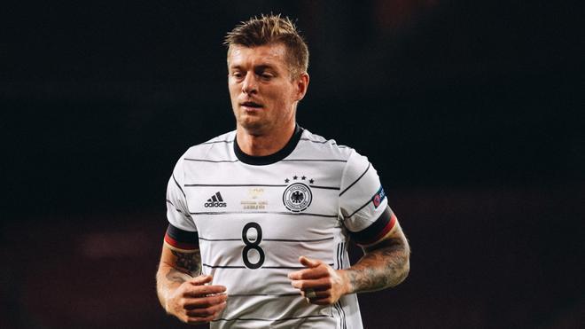 Toni Kroos, en un encuentro con Alemania