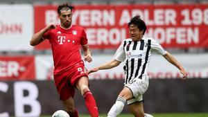 Javi Martínez podría dejar de vestir la camiseta del Bayern