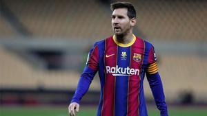 Messi empató el duelo ante el Rayo a pase de Griezmann