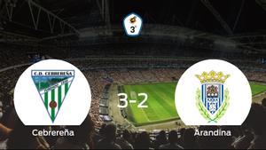 Triunfo de la Cebrereña por 3-2 frente a la Arandina