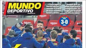Portada de Mundo Deportivo del 04/03/2021
