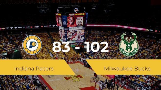 Milwaukee Bucks se hace con la victoria en el Bankers Life Fieldhouse contra Indiana Pacers por 83-102