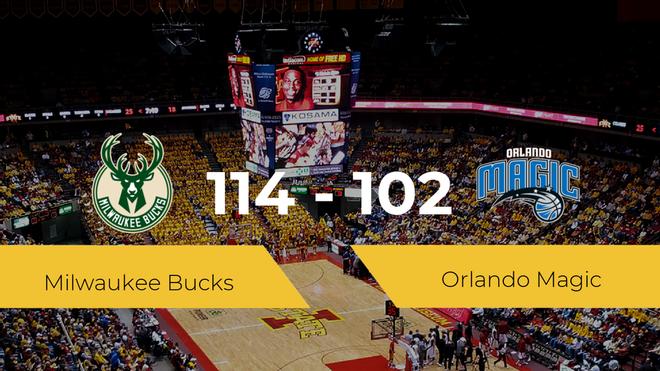 Victoria de Milwaukee Bucks ante Orlando Magic por 114-102