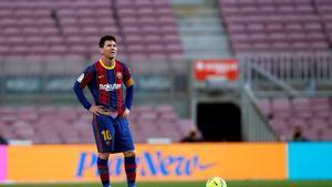 Koeman habló de Messi