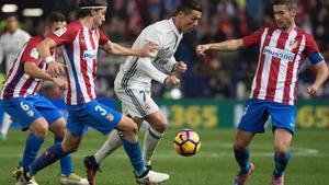 El derbi Real Madrid - Atlético se juega en el Bernabéu