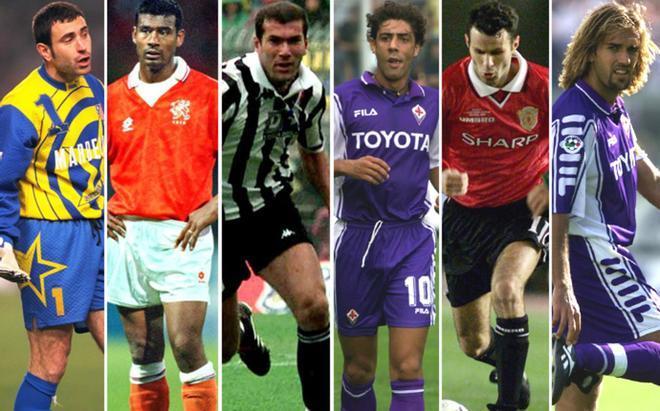 Molina, Winter, Zidane, Rui Costa, Giggs y Batistuta sonaron para el Barça de Cruyff