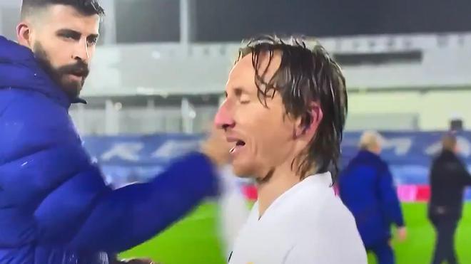 Modric a Piqué: Estás esperando a rajar ahora, eh