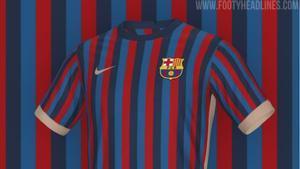 Posible camiseta del Barça para 2022-23