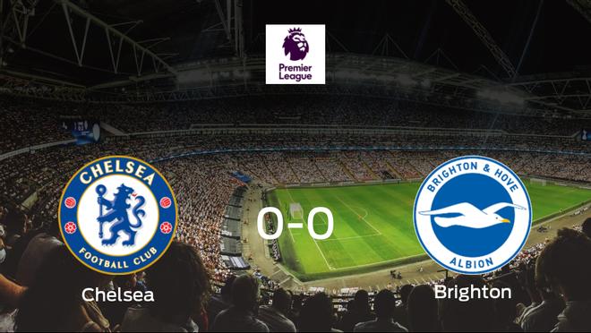 El Chelsea y el Brighton and Hove Albion se reparten los puntos en un partido sin goles (0-0)