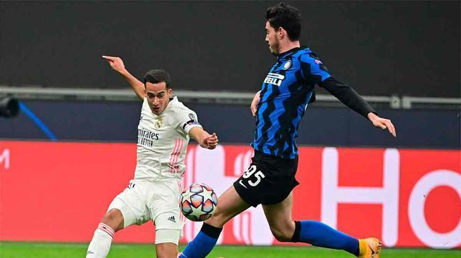 Lucas Vázquez pudo ampliar distancias en el marcador