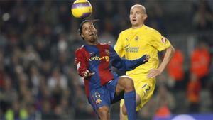 11. Gol de chilena de Ronaldinho