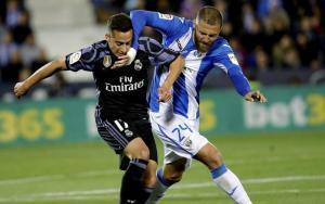Lucas Vázquez tuvo el gol en sus botas en dos ocasiones