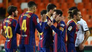 Todo gira en este Barça alrededor de Leo Messi