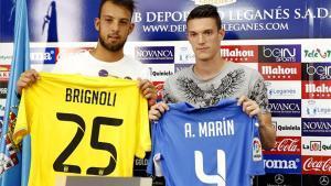 El Leganés presentó a Brignoli y Adrián Marín