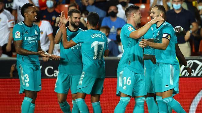 El Real Madrid le dio la vuelta al partido