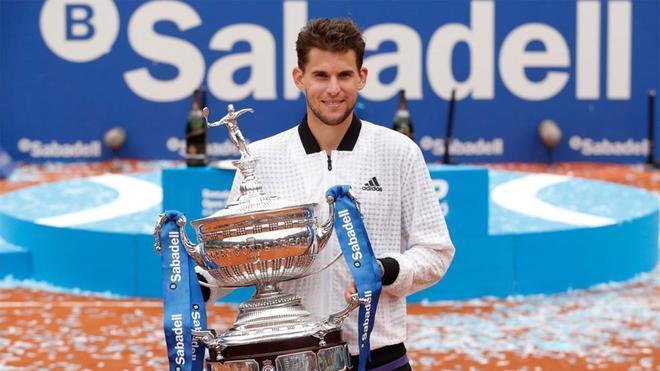 Dominic Thiem es el último en poner su nombre en el palmarés del Barcelona Open