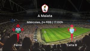 Previa del encuentro de la jornada 11: Racing Ferrol contra Celta B