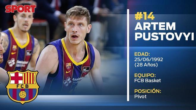 Artem Pustovyi (Barça Basket)