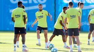 El Barça vuelve a los entrenamientos tras la victoria ante el Leganés