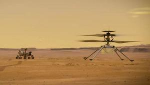 Ingenuity, el primer helicóptero que volará en Marte