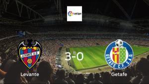 Levante ease to victory over Getafe 3-0 at Ciutat de Valencia