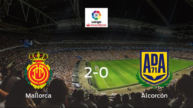 El Mallorca vence por 2-0 al Alcorcón