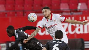 Ocampos intenta imponerse a Mendy y Nacho
