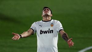 Maxi Gómez lleva casi cuatro meses sin ver portería